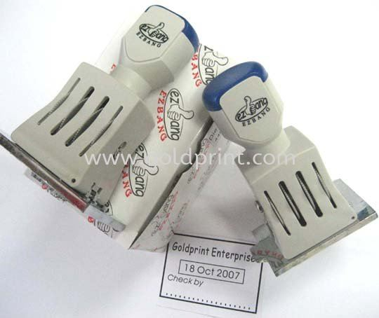 QC Stamp / Dater Stamp  Materials and Supplies Rubber Stamp / Self-Inked Stamp Singapore Supply Suppliers | Goldprint Enterprise Pte Ltd