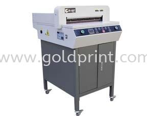 GP450V series Paper Cutter/Blinder Printing Equipments And NameCard Slitter Singapore Supply Suppliers | Goldprint Enterprise Pte Ltd