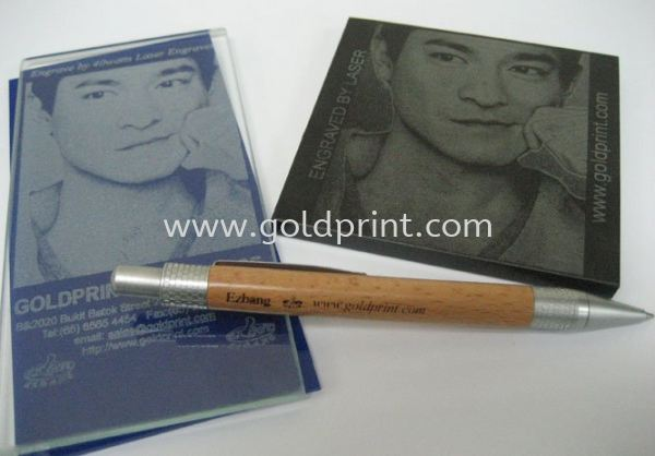 Sharp Photo Image Engraved Samples Rubber Stamp, Seal n Signcarft Machine Singapore Supply Suppliers | Goldprint Enterprise Pte Ltd