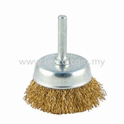 Brass Cup Brush Abrasive Products JB Johor Bahru Malaysia Hardware Supply Suppliers | Leeco Industrial Supply