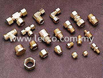 Brass Compression Fitting Brass and Stainless Steel Fitting JB Johor Bahru Malaysia Hardware Supply Suppliers | Leeco Industrial Supply