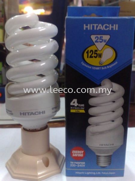 Hitachi Spiral Lamp Hitachi Electrical Products JB Johor Bahru Malaysia Hardware Supply Suppliers | Leeco Industrial Supply