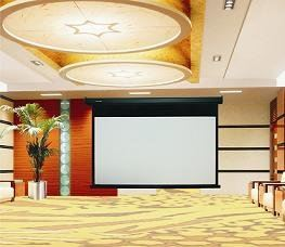 Powerline Projector Motorized Screen KIARA Projector Screen Johor Bahru (JB), Malaysia Supplier, Supply, Supplies, Retailer | SH Communications & Technologies Sdn Bhd / S.H. MARKETING