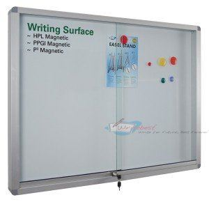 Whiteboard (Aluminium Frame Cabinet) Whiteboard Johor Bahru (JB), Malaysia Supplier, Supply, Supplies, Retailer | SH Communications & Technologies Sdn Bhd / S.H. MARKETING