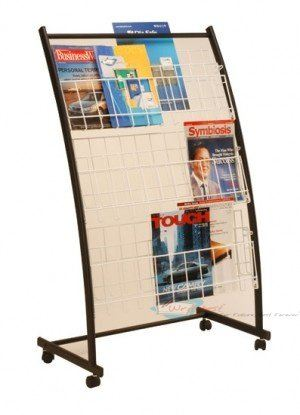 MR-203 Newspaper & Magazine Rack Johor Bahru (JB), Malaysia Supplier, Supply, Supplies, Retailer | SH Communications & Technologies Sdn Bhd / S.H. MARKETING