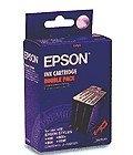 EPSON SO20025 (BLACK) = TWINPACK OF SO20025 STYLUS 400/800/1000 Ink Cartridge Consumable Johor Bahru JB Malaysia Supply Suppliers Retailer   LEO Automation Trading