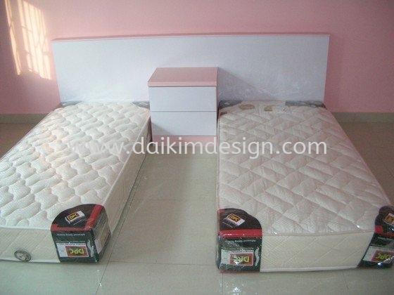 Bed design 001 Bed design Kulai Johor Bahru JB Design | Daikim Design