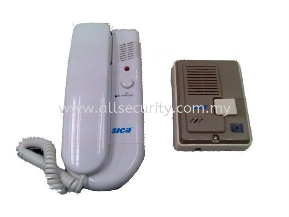 AST Elock Door Phone (1-to-1 Intercom) - AC  230V    Intercom Door Phone Accessories Singapore, Malaysia, Johor, Selangor, Senai Manufacturer, Supplier, Supply, Supplies | AST Automation Pte Ltd