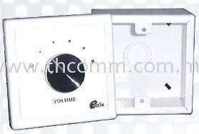 Volume Control 3 Series Accessory  Sound System Johor Bahru JB Malaysia Supply, Suppliers, Sales, Services, Installation | TH COMMUNICATIONS SDN.BHD.