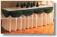 double box pleat Table Skirting Johor Bahru (JB), Malaysia Supplier, Suppliers, Supply, Supplies   Swantex Hotel Supplies