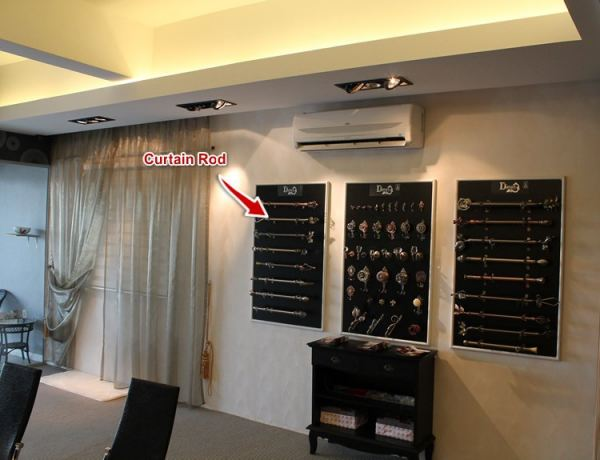 Curtain Rod JB, Johor Bahru Design, Install, Supply | Babylon Curtain Design