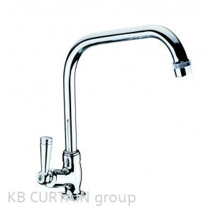 Pillar Sink Tap A-633 Taps and Fittings Kitchen Accessories Johor Bahru (JB), Skudai, Singapore Design, Supplier, Renovation | KB Curtain & Interior Decoration