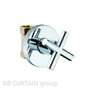 Stop Clock With Flange A-4200 & A-4300 Taps and Fittings Kitchen Accessories Johor Bahru (JB), Skudai, Singapore Design, Supplier, Renovation | KB Curtain & Interior Decoration