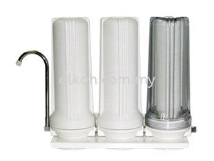 10;quot; Triple Filtration System - Clear 3阶段过滤器 饮水系统   Supply, Suppliers, Supplies   Alkoh Marketing Sdn Bhd