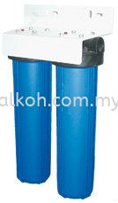 20;quot; Double Big Flow Housing Filter - Blue Double Filter Water System Johor Bahru (JB), Malaysia, Ulu Tiram Supply, Suppliers, Supplies | Alkoh Marketing Sdn Bhd