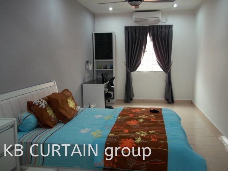curtain Curtain Design Johor Bahru (JB), Skudai, Singapore Design, Supplier, Renovation | KB Curtain & Interior Decoration