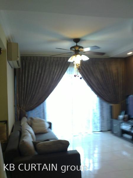 curtain design Curtain Design Johor Bahru (JB), Malaysia, Singapore, Mount Austin, Skudai, Kulai Design, Supplier, Renovation | KB Curtain & Interior Decoration