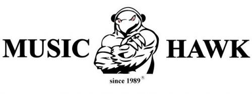 Music Hawk replaced the new brand logo!!!