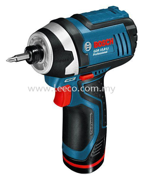 Bosch cordless impact driver GDR 10.8-LI Bosch power tool Machinery and Power Tools JB Johor Bahru Malaysia Hardware Supply Suppliers | Leeco Industrial Supply