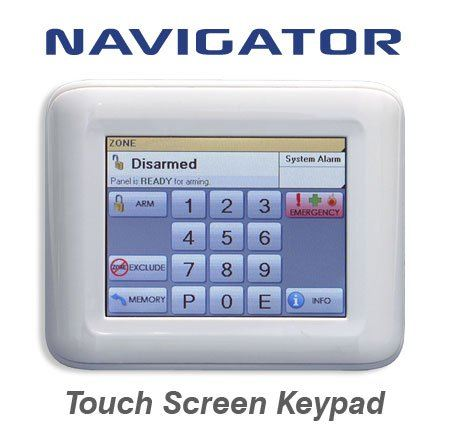Ness Touch screen keypad Security Burglar Alarm System Singapore Supplier, Supply, Supplies, Installation | TMA Technology System Pte Ltd