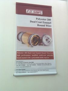Sole Distributor FD Sims England Copper Wire
