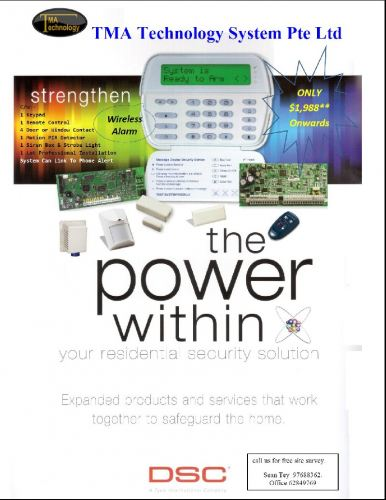 DSC Wireless Alarm System
