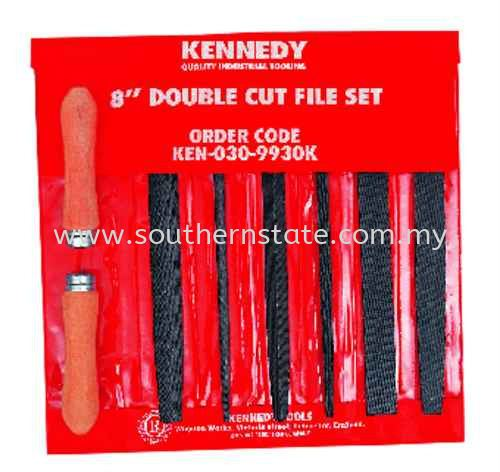 Kennedy Engineer¡®s Double Cut File Set Filing Abrasive Products  Malaysia Johor Bahru JB Supplier | Southern State Sdn. Bhd.