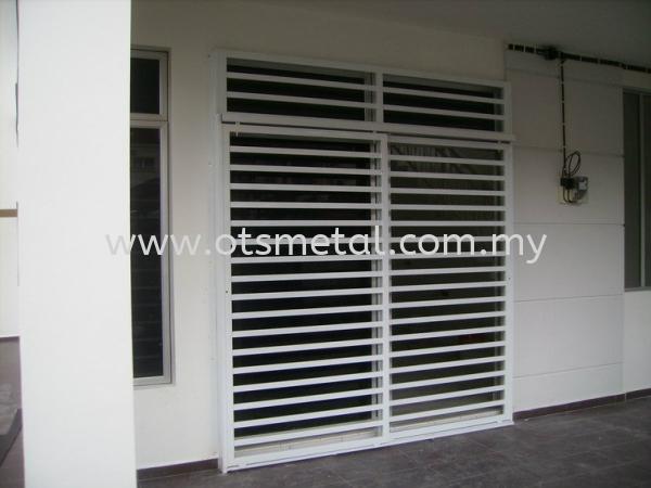 MD004 Metal Door (Grill) Johor Bahru (JB) Design, Supplier, Supply | OTS Metal Works