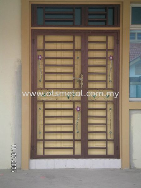 MD007 Metal Door (Grill) Johor Bahru (JB), Skudai  Design, Supplier, Supply | OTS Metal Works