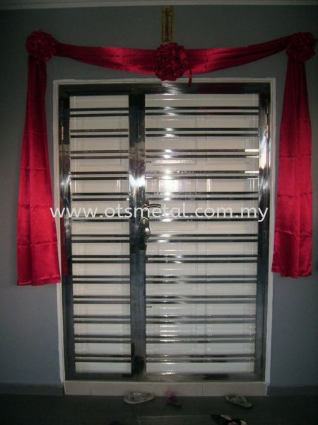 SSD001 Stainless Steel Door Johor Bahru (JB), Skudai  Design, Supplier, Supply | OTS Metal Works