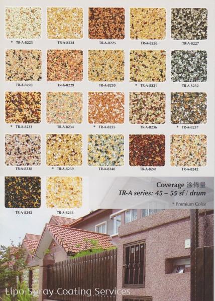 Trowel Stone Johor Bahru JB Malaysia Supplier & Supply   Lipo Spray Coating Services