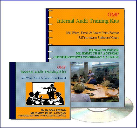 3.1 GMP Internal Auditor (2 Days) Training Kit Short Course Training DIY Kits Johor Bahru (JB), Malaysia, Tampoi Supplier, Suppliers, Supply, Supplies | A & T Management Centre