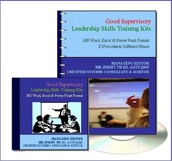 4.1 Good Supervisory Leadership Skills (2 Days) Training Kit Short Course Training DIY Kits Johor Bahru (JB), Malaysia, Tampoi Supplier, Suppliers, Supply, Supplies | A & T Management Centre