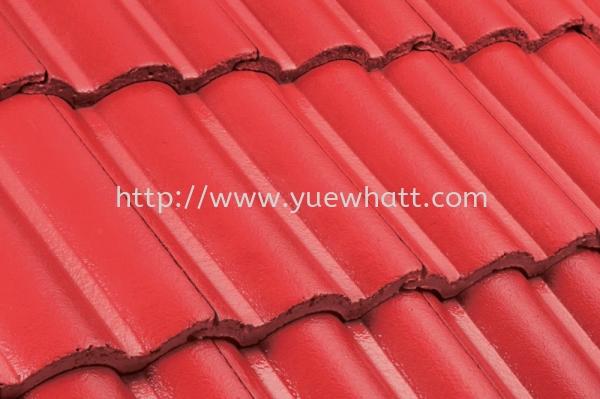 Elabana Red ELABANA Series Monier Roof System Johor Bahru JB Malaysia Supply & Wholesale | Yue Whatt Trading Sdn Bhd