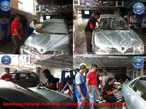 Gambang,Pahang Franchise Training (19 Nov - 21 Nov 2012)