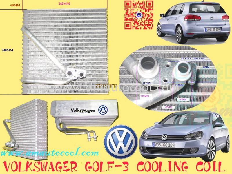 (CLC)  Volkswagen Golf Cooling Coil  Cooling Coil Car Air Cond Parts Johor Bahru JB Malaysia Air-Cond Spare Parts Wholesales Johor, JB, 冷气零件批发 Testing Equipment | Am Autocool Electronic Enterprise