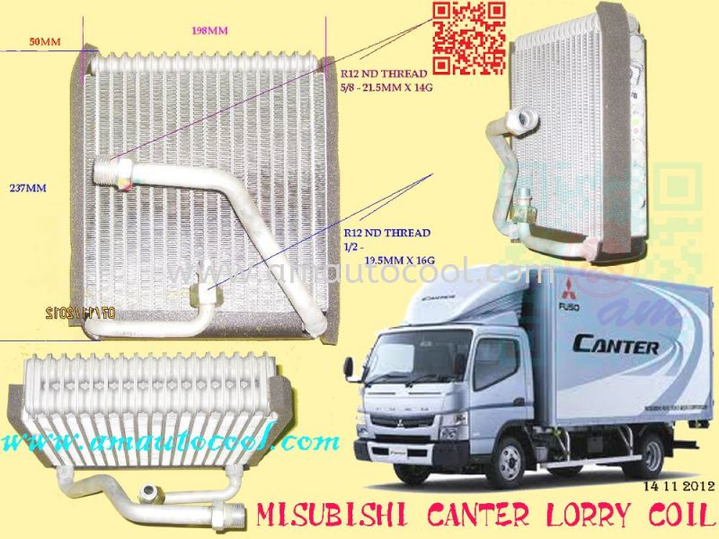 (CLC)  Mitsubishi Canter Lorry Cooling Coil  Cooling Coil Car Air Cond Parts Johor Bahru JB Malaysia Air-Cond Spare Parts Wholesales Johor, JB, 冷气零件批发 Testing Equipment | Am Autocool Electronic Enterprise