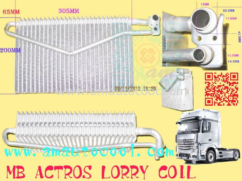 (CLC)  MB Actros Lorry Cooling Coil  Cooling Coil Car Air Cond Parts Johor Bahru JB Malaysia Air-Cond Spare Parts Wholesales Johor, JB, 冷气零件批发 Testing Equipment | Am Autocool Electronic Enterprise
