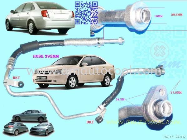 (H&P) Chevrolet Optra Suction Hose Hose ,Pipe Car Air Cond Parts Johor Bahru JB Malaysia Air-Cond Spare Parts Wholesales Johor, JB, 冷气零件批发 Testing Equipment | Am Autocool Electronic Enterprise