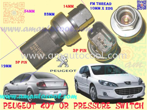 (CLS)   Peugeot 407 Clutch Switch Clutch Switch Car Air Cond Parts Johor Bahru JB Malaysia Air-Cond Spare Parts Wholesales Johor, JB, 冷气零件批发 Testing Equipment   Am Autocool Electronic Enterprise