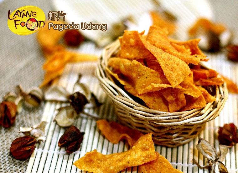 Shrimp Pagoda ϺƬ Traditional snacks / Chips Johor, Layang-Layang, Malaysia Supply, Supplier, Supplies | Layang Food Sdn Bhd