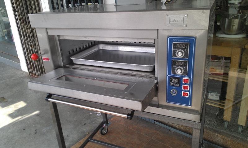 Imbaco Gas Oven 1 Deck 1 Tray (E1D1TIM) / Gas Ketuhar 1 Tingkat 1 Loyang (E1D1TIM) 1D1T Bakery Equipment-Oven(Gas) Johor Bahru JB Malaysia Supply, Supplier, Supplies | Xuan Huat Food Equipment Sdn Bhd
