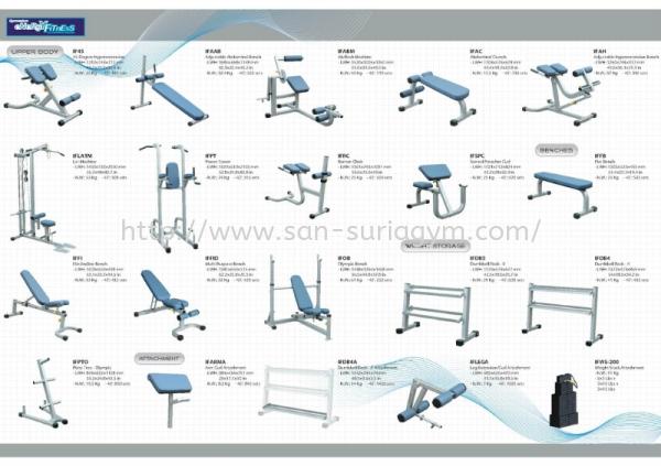 IF series 2 Impulse Gym Equipments JB Johor Bahru Taman Universiti, Senai, Nusa Bestari, Mount Austin GYM Equipment Supplies | San Suria Gym