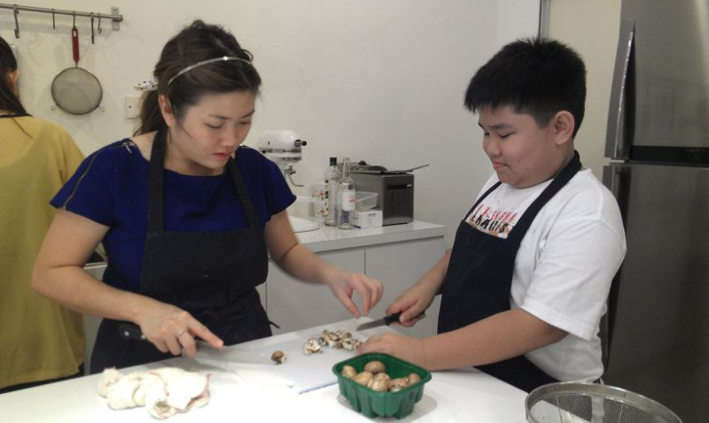 Junior Chef Justin On Pasta Class Junior Chef/Kids Fun Cooking Consultancy Johor Bahru JB Malaysia Supply, Supplier, Supplies | Xuan Huat Food Equipment Sdn Bhd