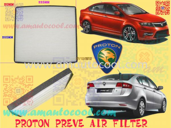 (AFT)  Proton Preve Air Fillter Air Fillter Car Air Cond Parts Johor Bahru JB Malaysia Air-Cond Spare Parts Wholesales Johor, JB, 冷气零件批发 Testing Equipment | Am Autocool Electronic Enterprise