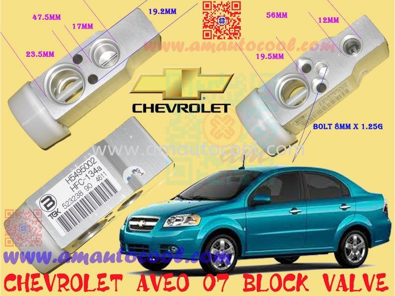 (VLV) Chevrolet Aveo Block Valve Expansion Valve Car Air Cond Parts Johor Bahru JB Malaysia Air-Cond Spare Parts Wholesales Johor, JB, 冷气零件批发 Testing Equipment | Am Autocool Electronic Enterprise