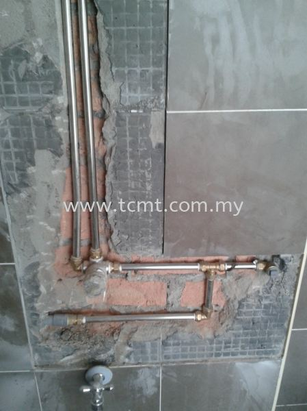Install Stainless Steel Hot water pipe Piping Works  Malaysia Johor Bahru JB Supply Suppliers | TC Marketing & Trading