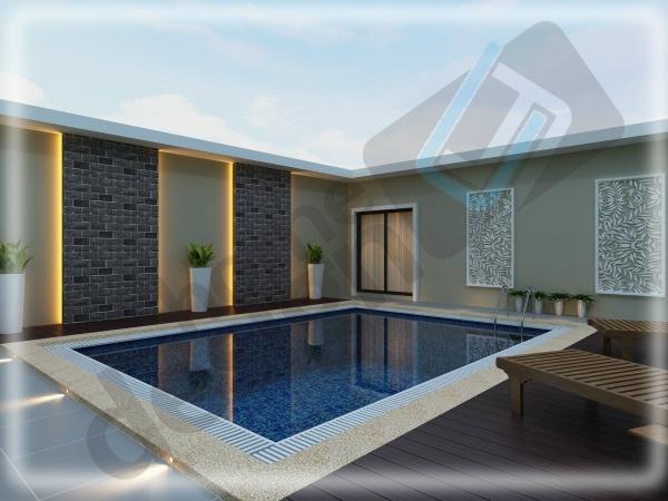 Swimming Pool Design Swimming Pool Design Johor Bahru (JB), Malaysia Design | LV Construction Design Sdn Bhd