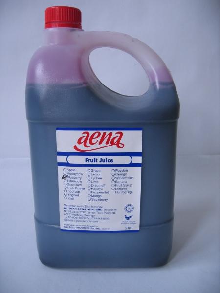blueberry Fruit Juice Selangor, Puchong, Malaysia Supply, Supplier, Supplies   Alunan Sena Sdn Bhd