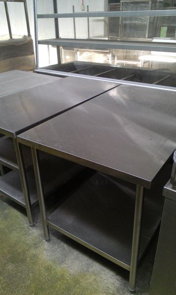 Stainless steel 4 Ft Working Table  Stainless Steel Item Johor Bahru JB Malaysia Supply, Supplier, Supplies | Xuan Huat Food Equipment Sdn Bhd
